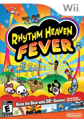 Rhythm Heaven Fever Boxart Cover