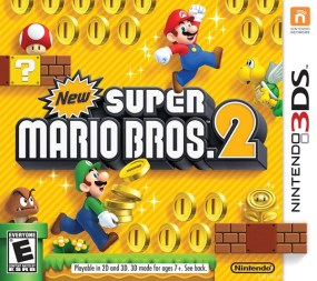 New Super Mario Bros. 2 Boxart Cover