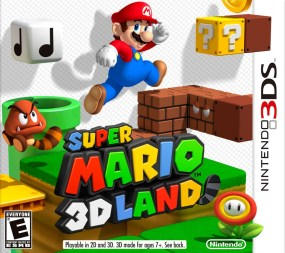 Super Mario 3D Land Boxart Cover
