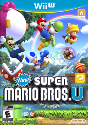 New Super Mario Bros. U Boxart Cover
