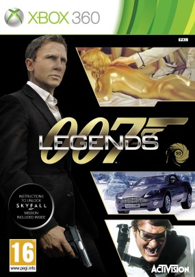 007 Legends Boxart Cover