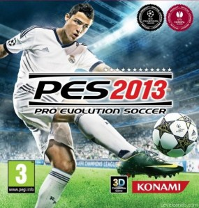 Pro Evolution Soccer 2013 Boxart Cover