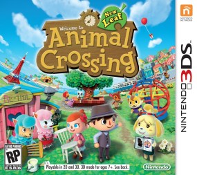 Animal Crossing: New Leaf Boxart Cover