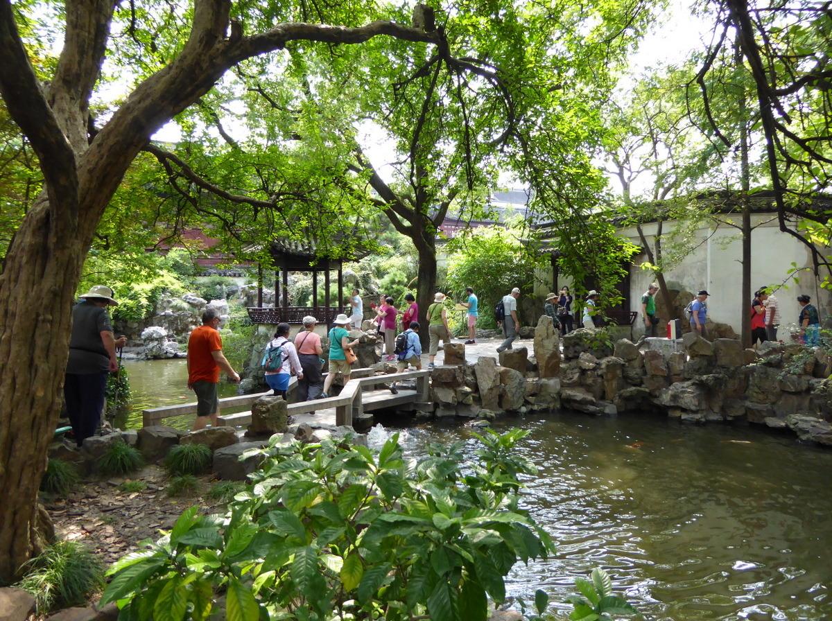Imagenes del jardin chino yuyuan for Dibujos de jardines