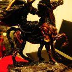 imagenes de la santa muerte en caballo (6)