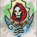 imagenes de la santa muerte en dibujos (4)