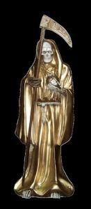 imagenes de la santa muerte dorada (5)