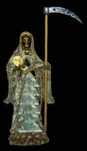 imagenes de la santa muerte dorada (6)