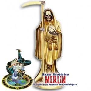 imagenes de la santa muerte dorada (7)