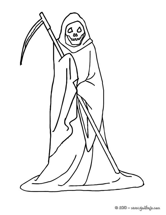 Imágenes de la Santa Muerte para dibujar