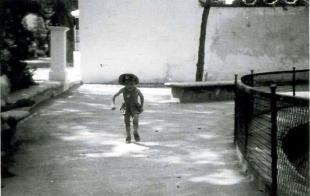 Lucena Paseo Rojas Estanque Patos 1952
