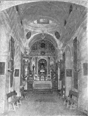 retablo - La ermita de Nuestra Señora de la O 1914