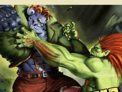 Street Fighter Vs. Darkstalkers