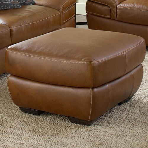 Medium Crop Of Leather Plantation Chair And Ottoman