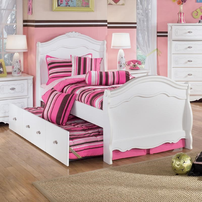 Large Of Bed With Trundle