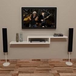 Rack Tv Suspenso 90X25 Cm