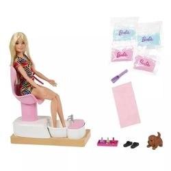 Barbie Boneca Wellness Salão De Manicure - Ghn07 - Mattel