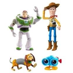 Toy Story Baú De Brinquedos Do Andy, Woody, Binóculos Lenny, Cachorro Slinky E Buzz Lightyear Gll56 - Mattel