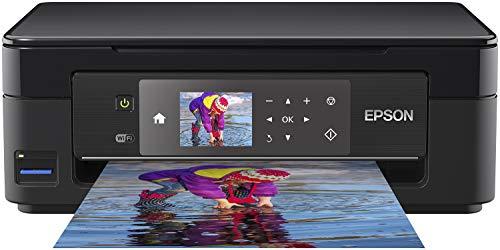 Epson Expression Home XP-452 3-in-1 Tintenstrahl-Multifunktionsgerät, Drucker (Scanner, Kopierer, WiFi 6,8 cm Display, Einzelpatronen, 4 Farben, DIN A4) schwarz