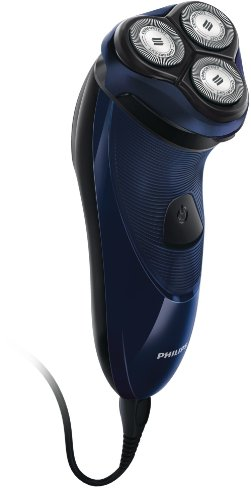 Philips PT717/16 - Afeitadora eléctrica, uso en seco, con cuchillas ConfortCut, con cable, azul