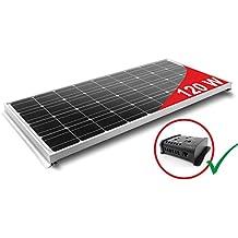 Panel Solar 120W para Autocaravana - Kit Completo