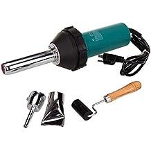 MountainNet 1080W plástico-Pistola de aire caliente y de soldadura Soldure-Pistola de polietileno, PVC, plástico rod (gratuita) shuffle MP3