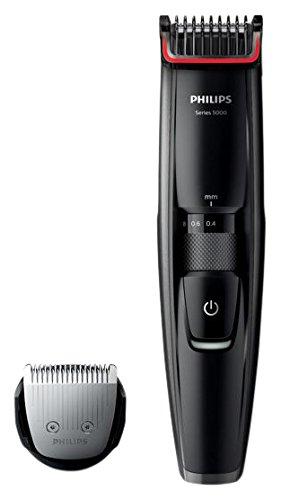 Philips BT5200/16 - Barbero con cuchillas metálicas, color negro