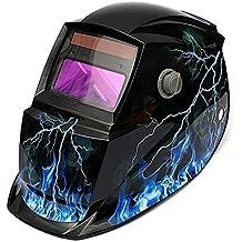 LESOLEIL Eléctrico Casco de Soldadura Automático Solar Energía Máscara de Fotosensible Máscara de Soldador