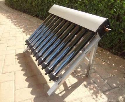 ソーラー温水器、10真空管、ヒートパイプ真空管、新しい太陽集熱器の1セット