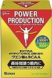 グリコ パワープロダクション エキストラ ハイポトニックドリンク クエン酸&BCAA グレープフルーツ味 1袋 (12.4g) 10本 粉末ドリンク ..
