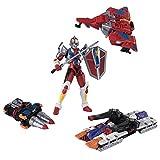 スーパーミニプラ 電光超人グリッドマン (4個入) 食玩・ガム (電光超人グリッドマン)