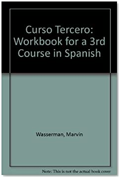 Curso Tercero: Workbook for a 3rd Course in Spanish