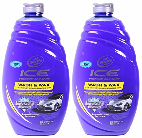 Turtle Wax Ice Premium Car Care Wash And Wax 40 Ounce Pack Of