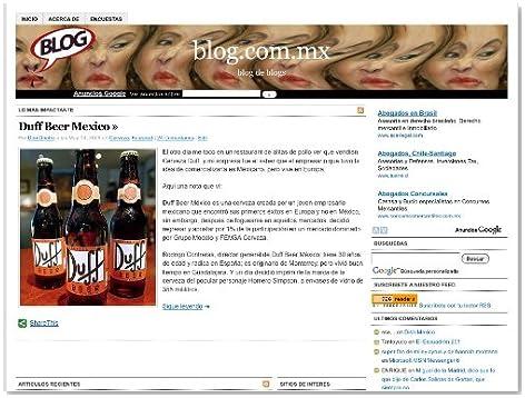 Blog.com.mx (Spanish Edition)