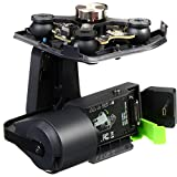 Mount a GoPro HERO3+ or HERO4 action camera on your Solo quadcopter with the Solo Gimbal from3D Robotics. The Solo Gimbal not only allows you to mount the GoPro, it also provides 3-axes of stabilization. The gimbal allows panning and tilting via cont...