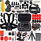 The Kit Including:   1 x Small Size EVA Shockproof Bag with Carabiner 1 x Chest Strap 1 x Head Belt Mount 1 x Helmet Strap Mount 1 x Wifi remote Wrist Strap 1 x Car Suction Cup Mount 1 x Tripod stand 2 x Tripod Adapter 1 x Floating Handle Grip 1 x 36...