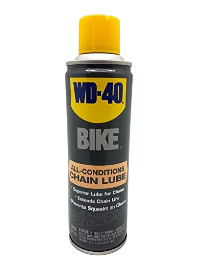 how to clean motorcycle chain wd40