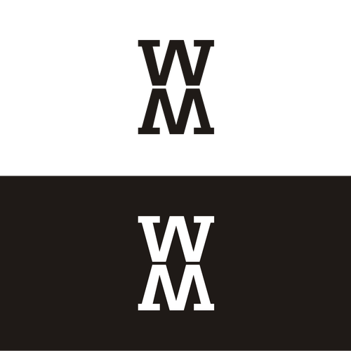 logo for W M   Logo design contest Entries from this contest