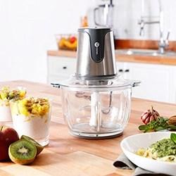 Processador de Alimentos Fun Kitchen com Bowl de Vidro 2L Cinza - 300W