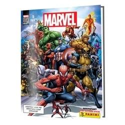 Livro Ilustrado Oficial Marvel 80 Anos - Capa Dura