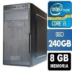 Cpu Intel Core I5 8gb Ssd 240gb + wifi + DVD * 10x mais rápido*