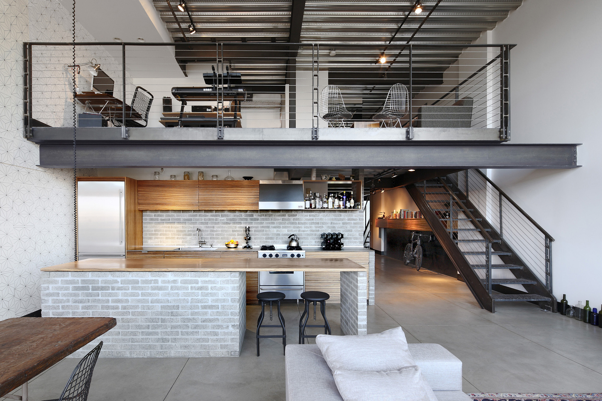 Gorgeous Loft Capitol Hill Loft Renovation Shed Architecture Design 10x16 Shed Loft 12x24 Shed Capitol Hill Loft Mark Woods Gallery houzz 01 Shed With Loft