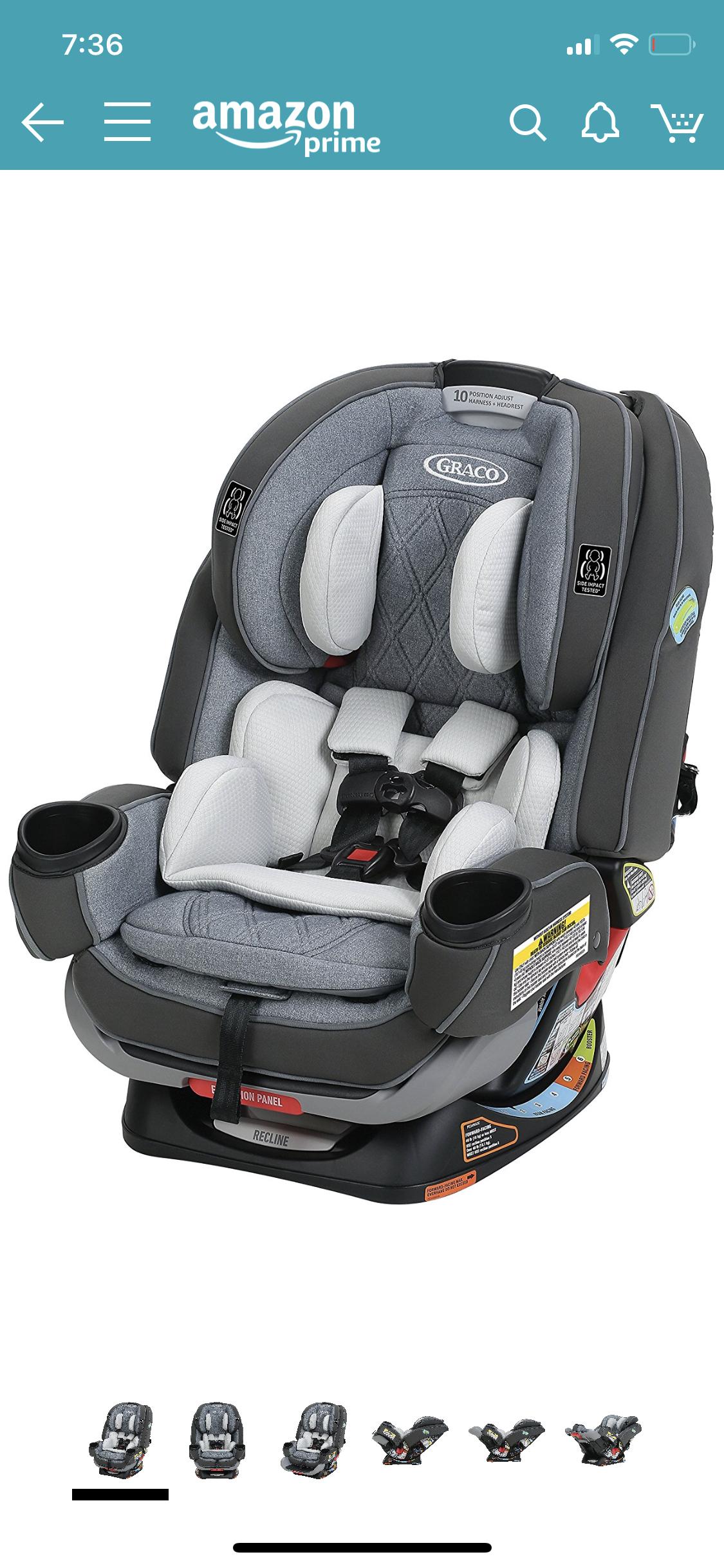 Fullsize Of Graco 4ever Car Seat