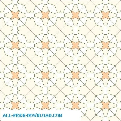 Amazing Tiling Designs Free vector in Open office drawing svg ( .svg