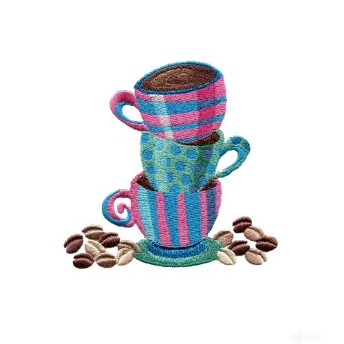 Medium Crop Of Coffee Cups Design