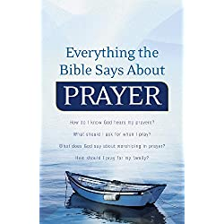 Everything the Bible Says About Prayer