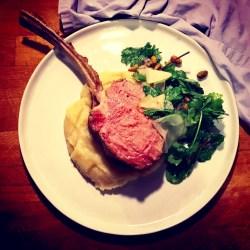 Cozy Herb Salad Veal Chop Recipes Gordon Ramsay Veal Chop Recipes Jamie Oliver Poster Sous Vide Veal Chop Parsnip Puree
