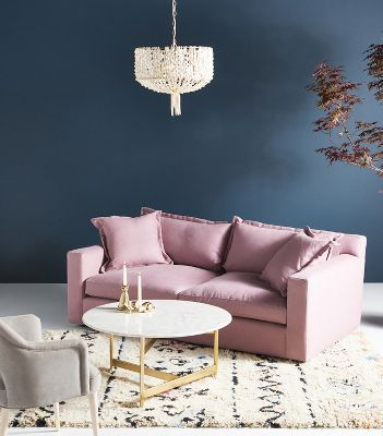 Unique Furniture   Designer Furniture   Anthropologie Katina Two Cushion Sofa