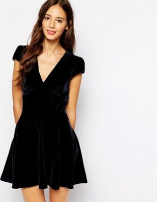 Jack Wills ASOS velvet dress