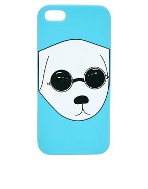 Image 1 ofASOS Jelly iPhone 5 Case With Dog Print